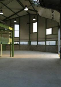 Bâtiment Industriel Locatif à Lassigny - Intérieur d'une cellule