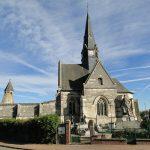 Église et monuments aux morts de Plessier-de-Roye