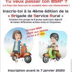 Tu veux passer ton BSR ? Inscris-toi à la 4e édition de la «Brigade de Service Rural».