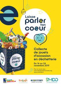 Collecte de jouets d'occasion dans toutes les déchetteries du SMDO -  Du 16 au 24 novembre 2019