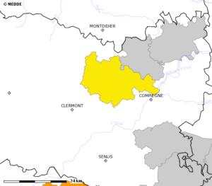 État des Arrêtés de limitation des usages de l'eau au 30 juillet 2020. Sources : Site PROPLUVIA